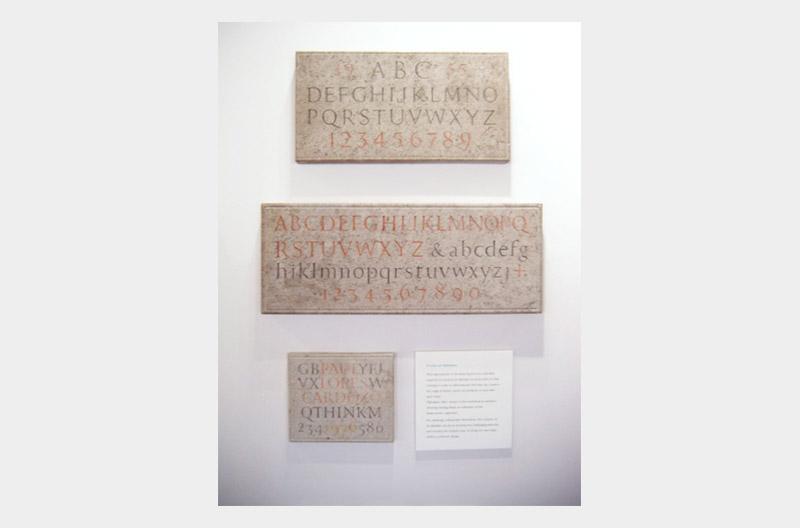 TypeTalks 第23回石に彫られた文字から書体デザインを学ぼうー本場イギリスのレターカッティング事情2