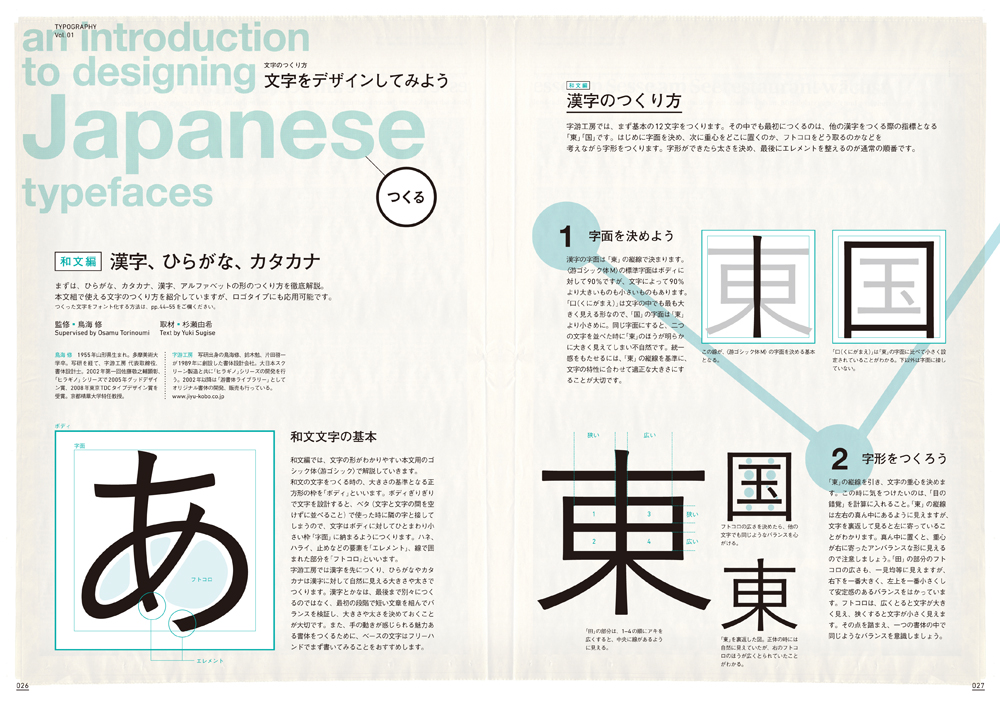 Typography 01 誌面サンプル2